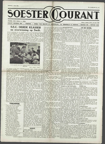 Soester Courant 1958-07-01