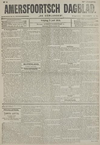 Amersfoortsch Dagblad / De Eemlander 1914-07-03