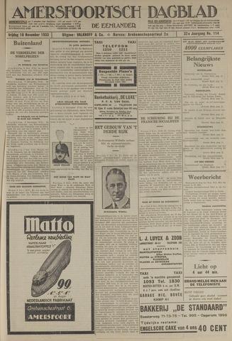 Amersfoortsch Dagblad / De Eemlander 1933-11-10