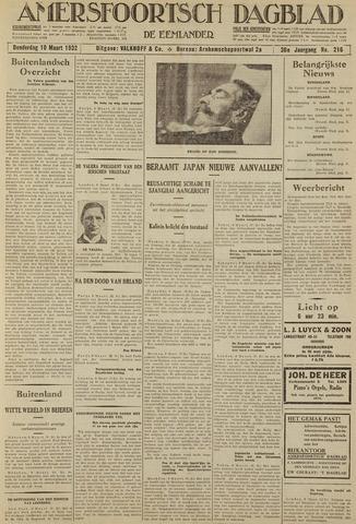 Amersfoortsch Dagblad / De Eemlander 1932-03-10