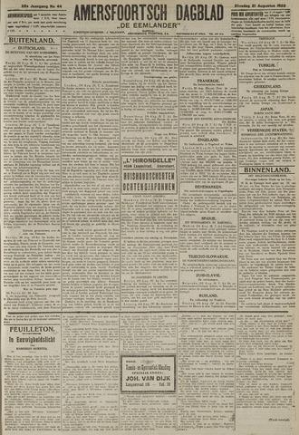 Amersfoortsch Dagblad / De Eemlander 1923-08-21