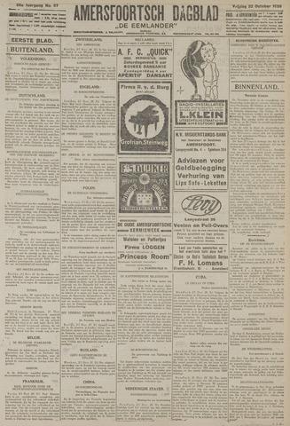 Amersfoortsch Dagblad / De Eemlander 1926-10-22