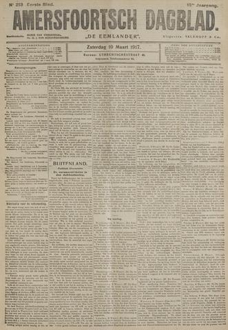 Amersfoortsch Dagblad / De Eemlander 1917-03-10