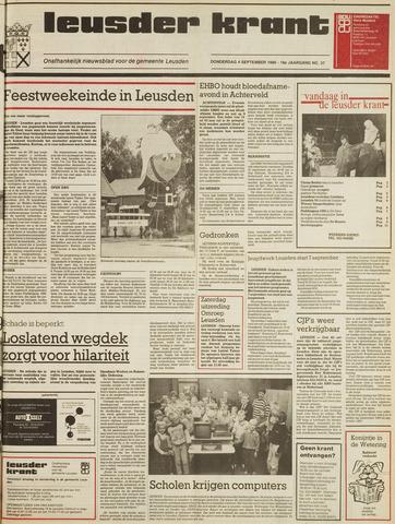 Leusder Krant 1986-09-04