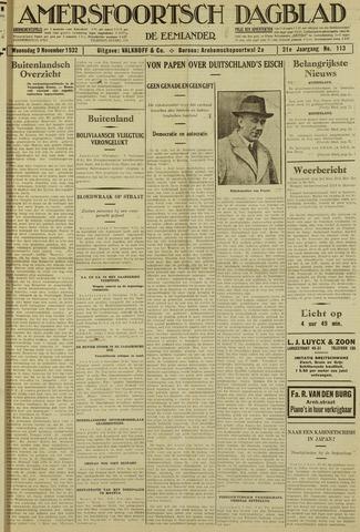 Amersfoortsch Dagblad / De Eemlander 1932-11-09