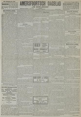 Amersfoortsch Dagblad / De Eemlander 1922-04-27