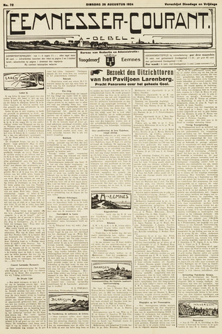 Eemnesser Courant 1924-08-26
