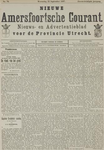 Nieuwe Amersfoortsche Courant 1897-09-22