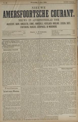 Nieuwe Amersfoortsche Courant 1884-06-11
