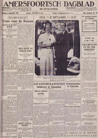 Amersfoortsch Dagblad / De Eemlander 1937-09-07