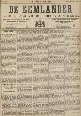De Eemlander 1908-07-10