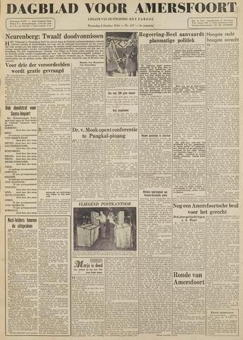 Dagblad voor Amersfoort 1946-10-02