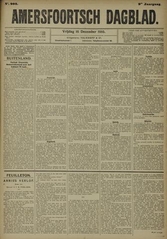 Amersfoortsch Dagblad 1910-12-16