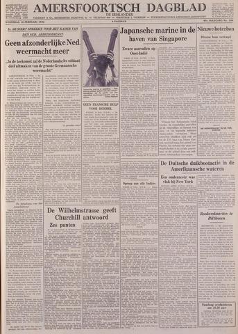 Amersfoortsch Dagblad / De Eemlander 1942-02-18
