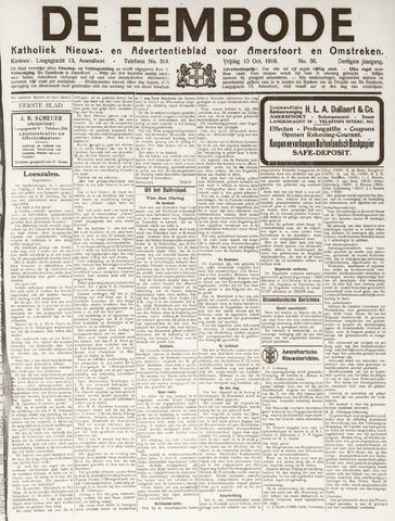 De Eembode 1916-10-13