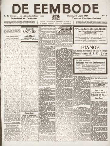De Eembode 1928-04-17
