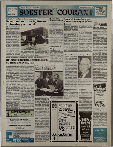 Soester Courant 1986-08-13
