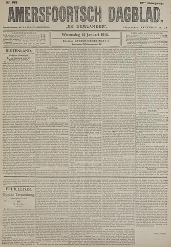 Amersfoortsch Dagblad / De Eemlander 1914-01-14