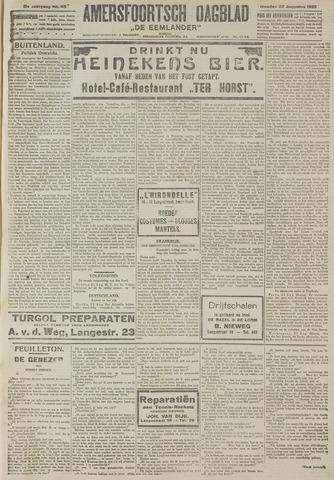 Amersfoortsch Dagblad / De Eemlander 1922-08-22