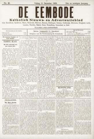 De Eembode 1909-12-31