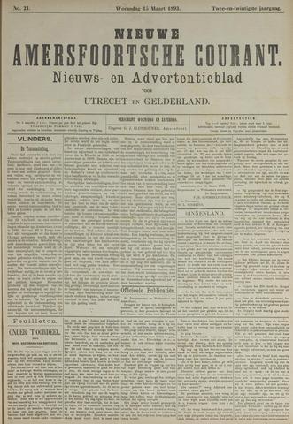 Nieuwe Amersfoortsche Courant 1893-03-15