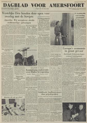 Dagblad voor Amersfoort 1950-10-21