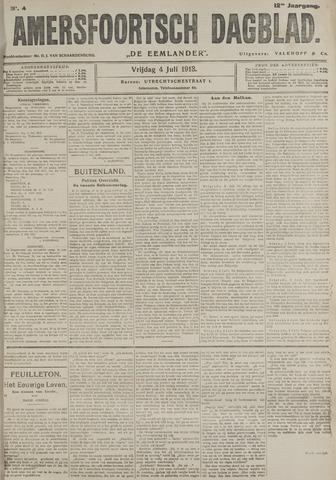 Amersfoortsch Dagblad / De Eemlander 1913-07-04