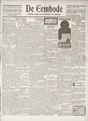 De Eembode 1933-02-10
