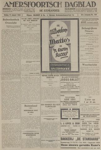 Amersfoortsch Dagblad / De Eemlander 1934-01-12