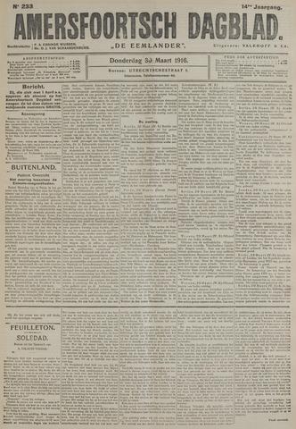 Amersfoortsch Dagblad / De Eemlander 1916-03-30