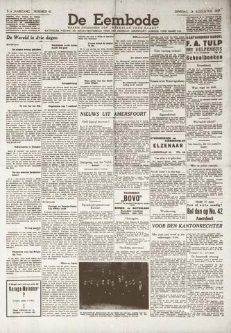 De Eembode 1937-08-24