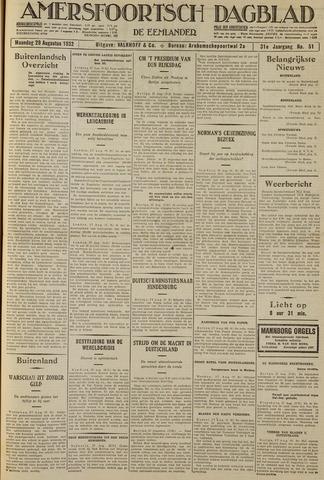 Amersfoortsch Dagblad / De Eemlander 1932-08-29