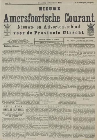 Nieuwe Amersfoortsche Courant 1907-11-13