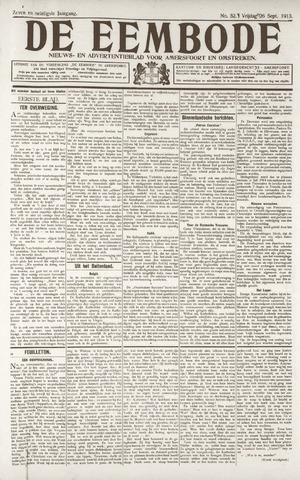De Eembode 1913-09-26