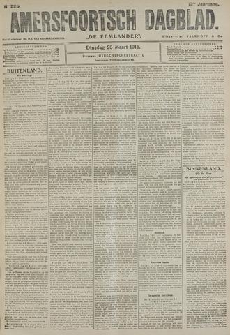 Amersfoortsch Dagblad / De Eemlander 1915-03-23