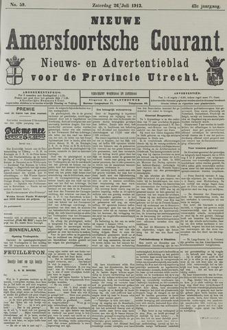 Nieuwe Amersfoortsche Courant 1913-07-26
