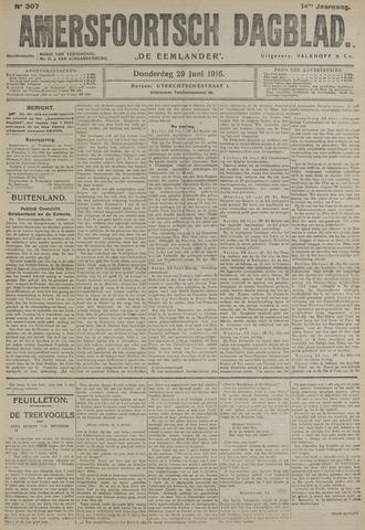 Amersfoortsch Dagblad / De Eemlander 1916-06-29
