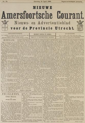 Nieuwe Amersfoortsche Courant 1900-04-28