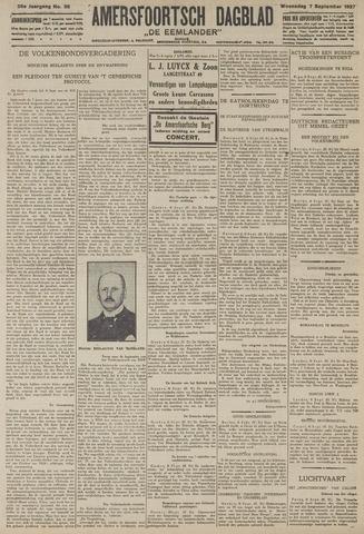 Amersfoortsch Dagblad / De Eemlander 1927-09-07