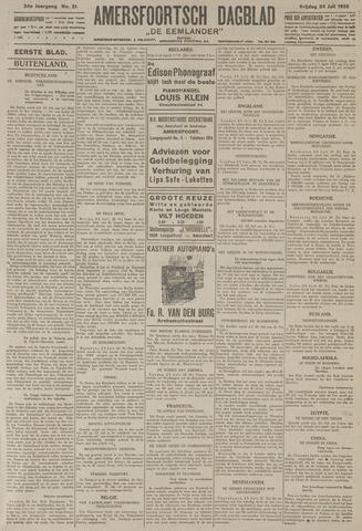Amersfoortsch Dagblad / De Eemlander 1925-07-24