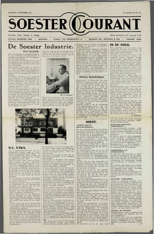 Soester Courant 1951-11-06