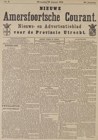 Nieuwe Amersfoortsche Courant 1913-01-22