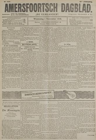 Amersfoortsch Dagblad / De Eemlander 1916-11-01