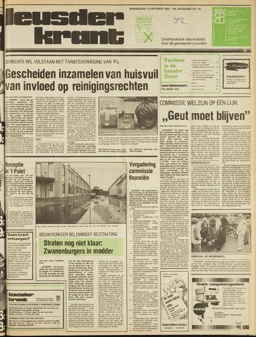 Leusder Krant 1982-10-14
