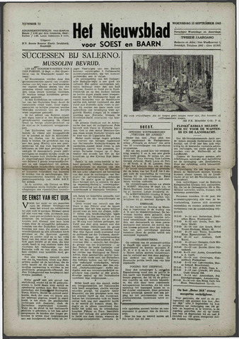 Soester Courant 1943-09-15
