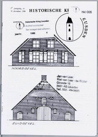 Historische Kring Leusden 1986-12-31