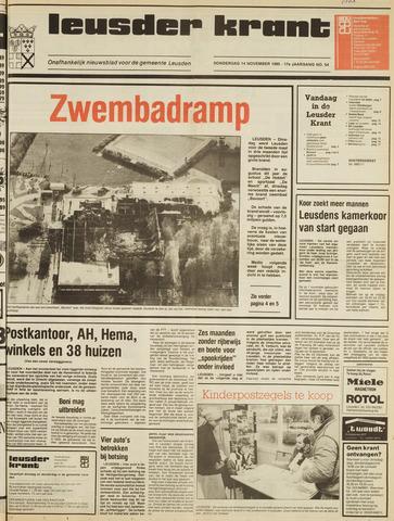 Leusder Krant 1985-11-14