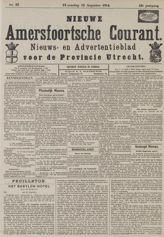 Nieuwe Amersfoortsche Courant 1914-08-12