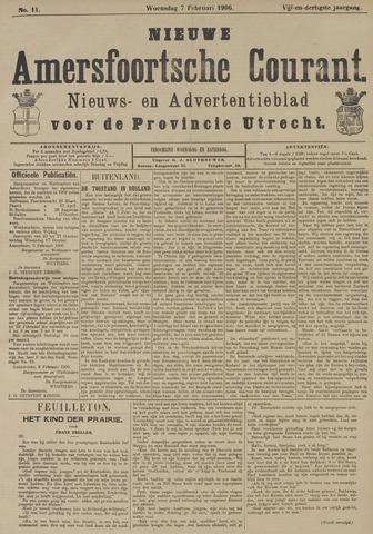 Nieuwe Amersfoortsche Courant 1906-02-07