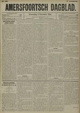 Amersfoortsch Dagblad 1908-11-04